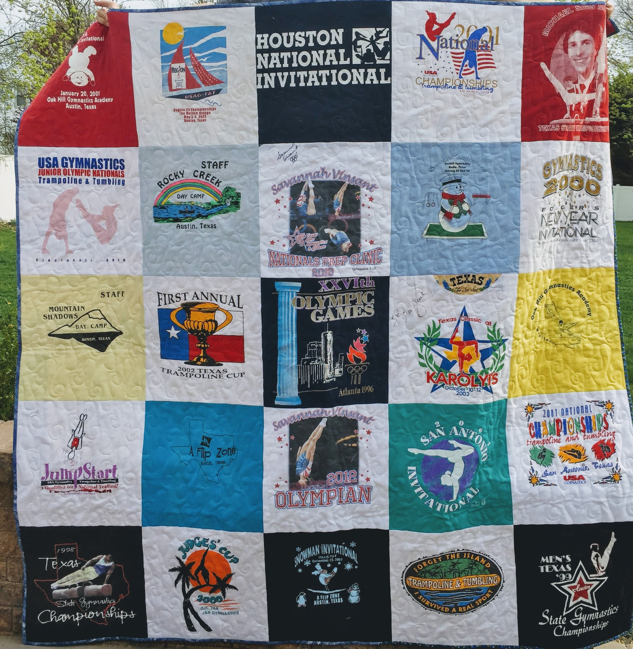 T Shirt Quilts Generating An Estimate Dizzy Quilter